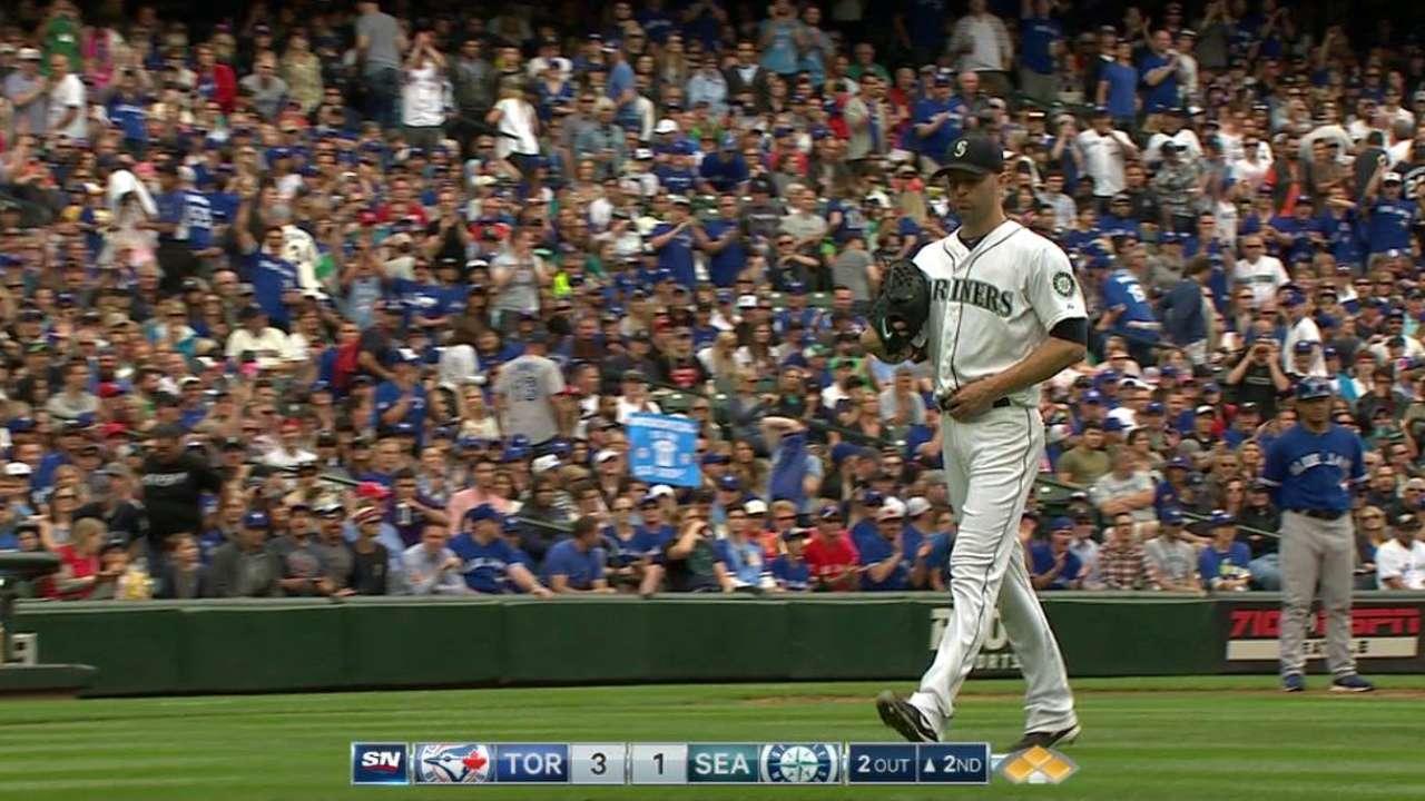 Donaldson's bases-loaded walk