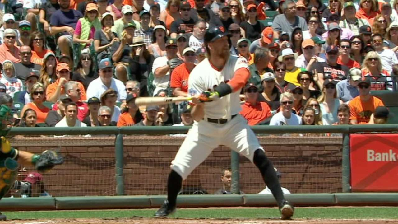 Pence buckled by Bassitt curve