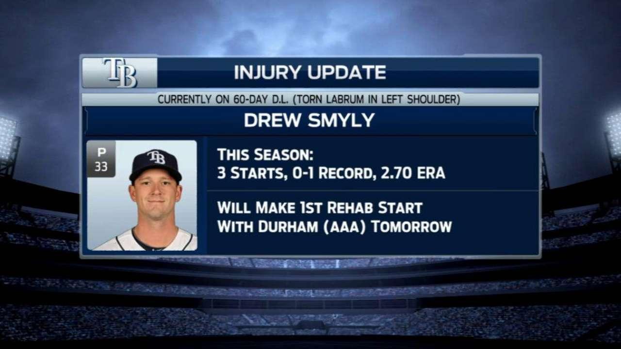 Update on Smyly's injury