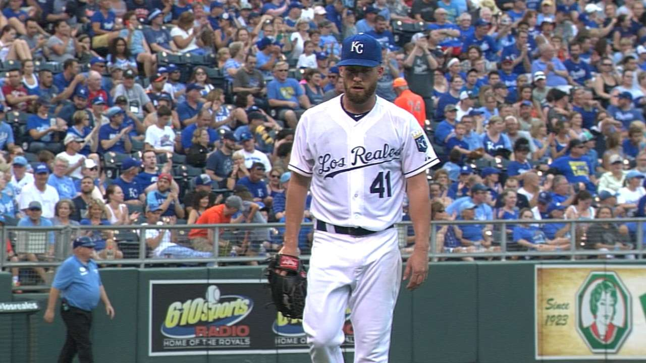 Duffy showing Royals he's back to fine form