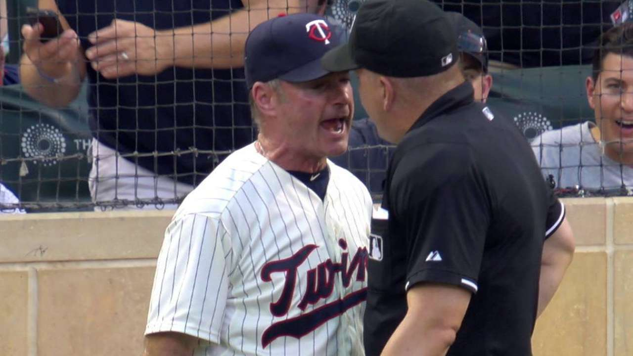 Molitor ejected from game