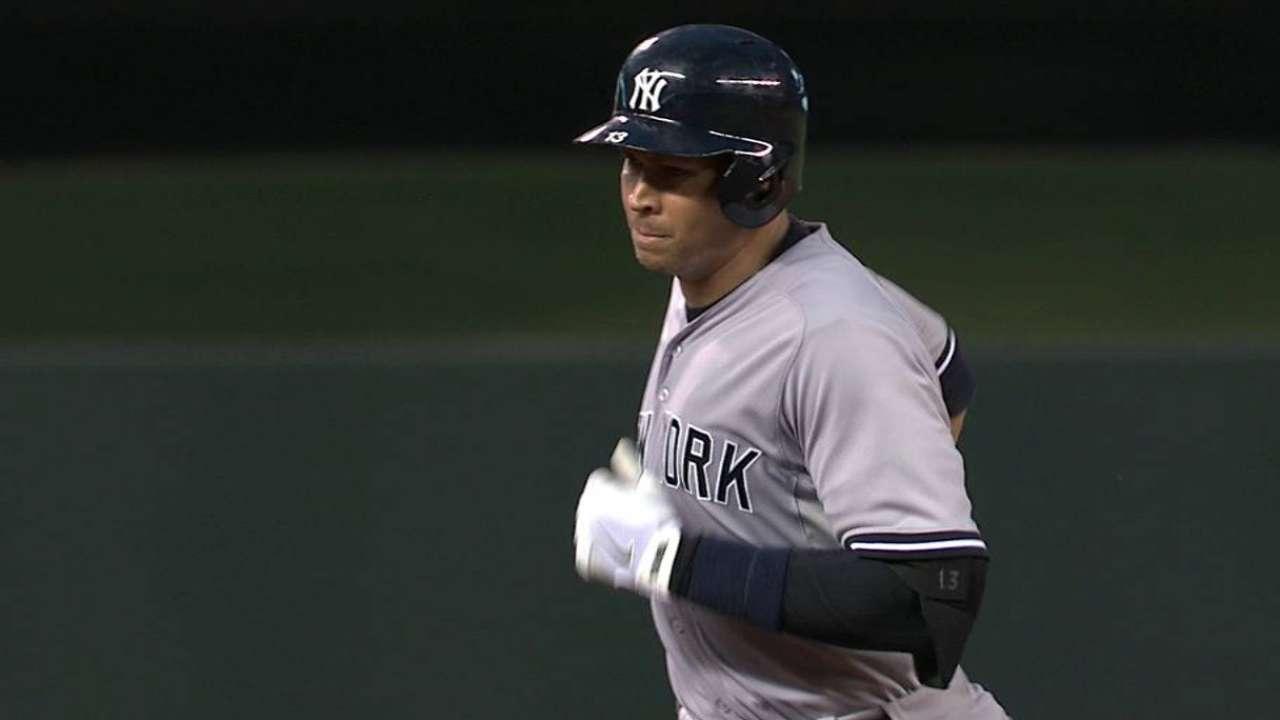 A-Rod dispara 3 HR y lidera remontada de Yankees