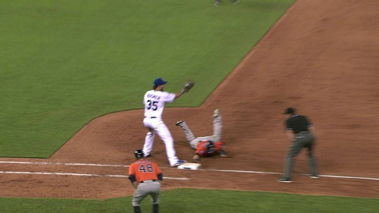 Royals turn two, call stands