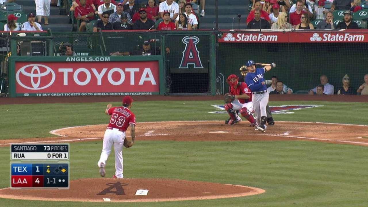 While Rangers seek righty bat, Rua fills role