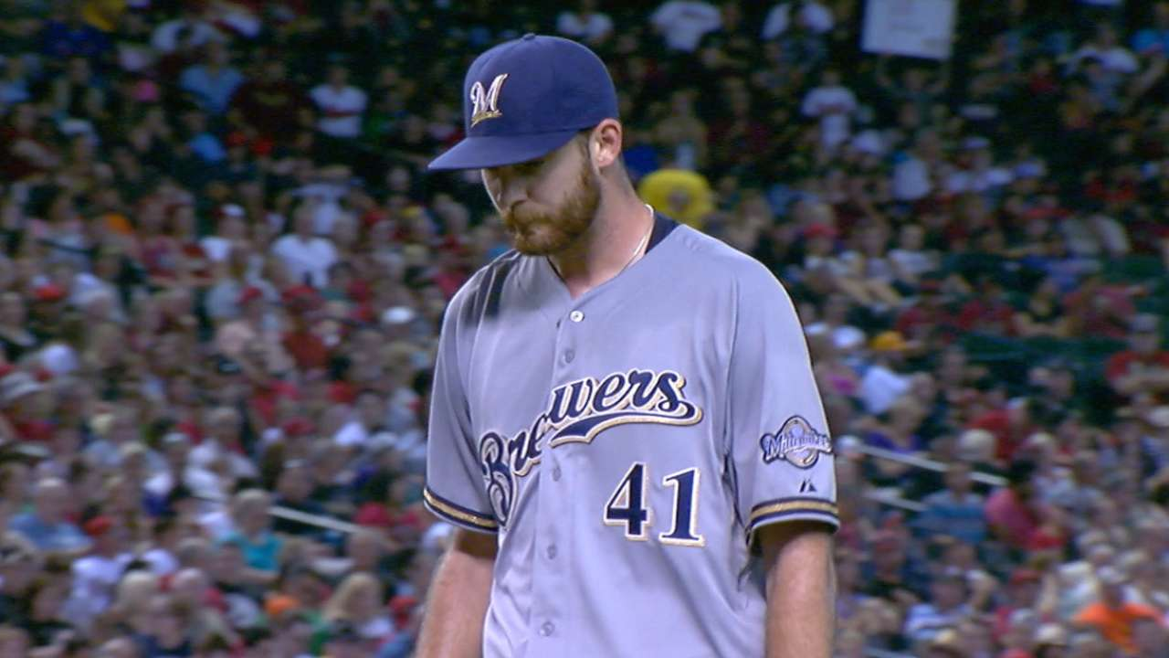 Brewers' rotation a credit to farm system