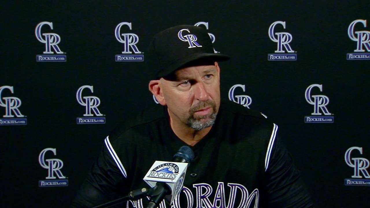 Weiss on 5-2 loss to Reds