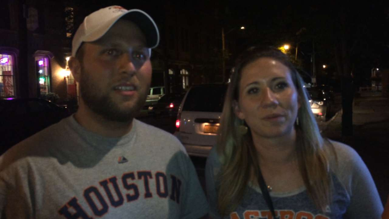 Astros fans trek to Cooperstown