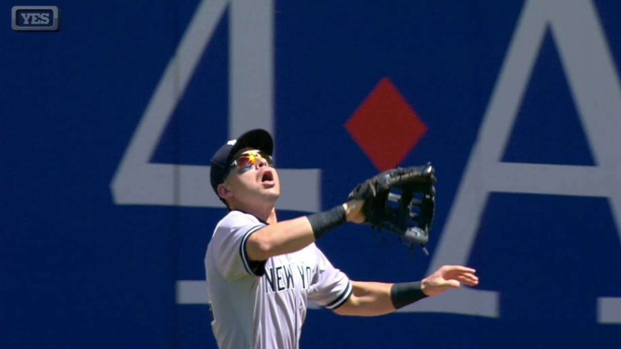 Ellsbury appears day after crashing into wall