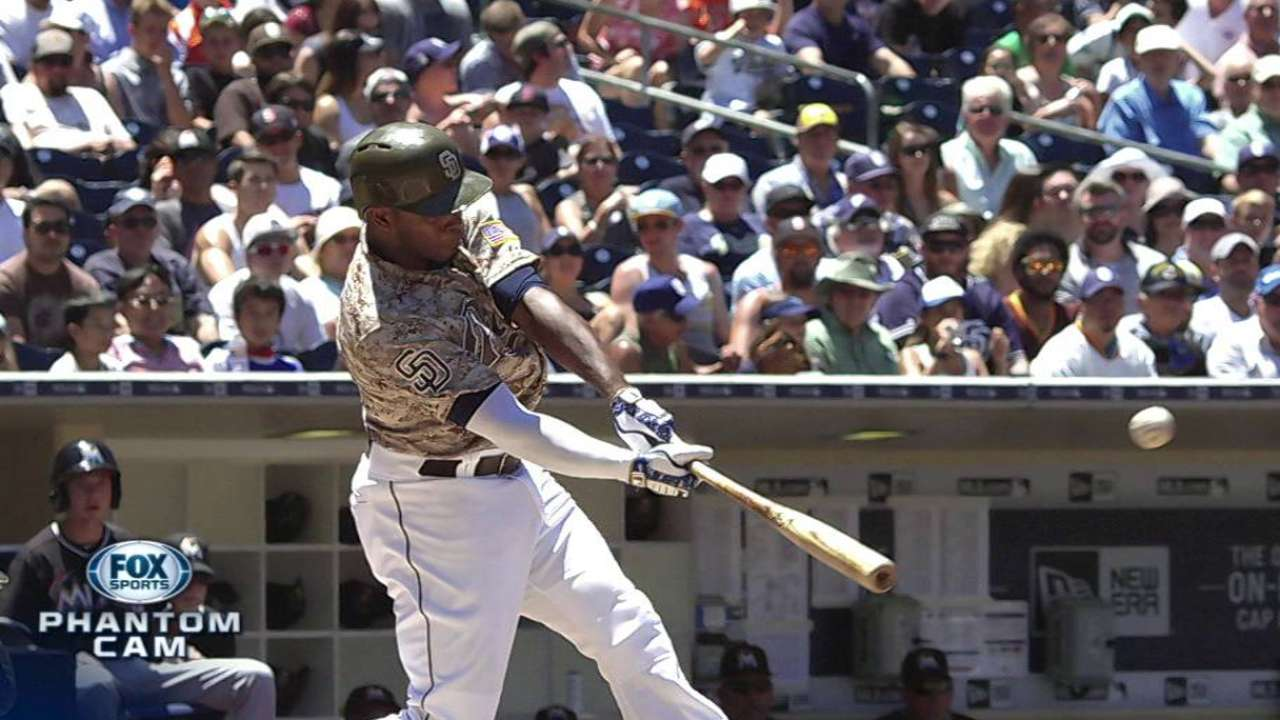 J. Upton homers as Padres down Marlins