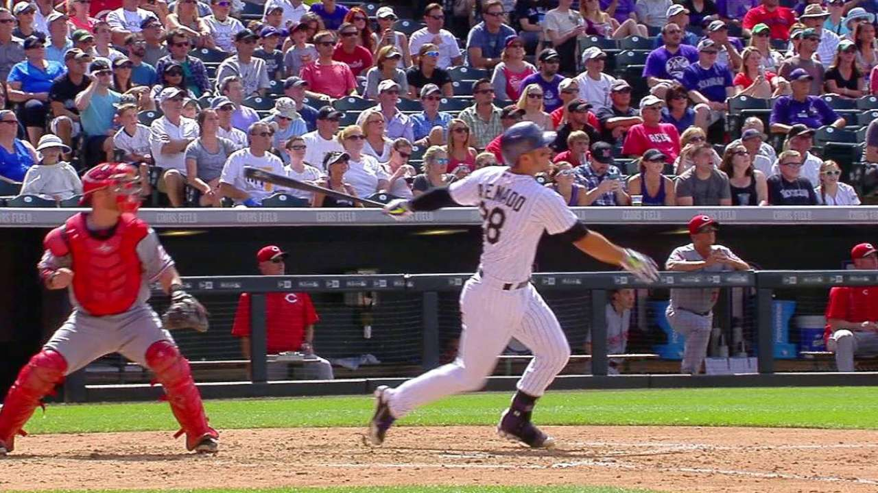 Arenado's two-run homer