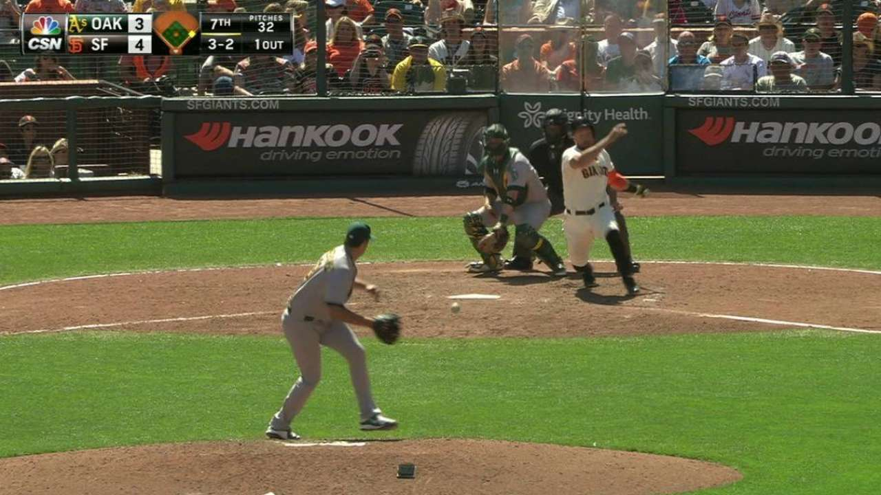 Pomeranz turns DP to end the 7th