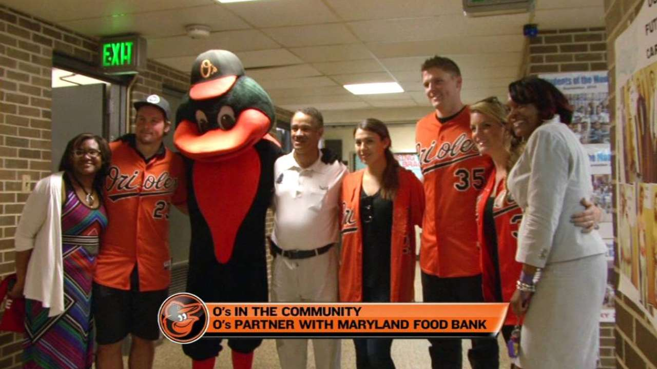 O's committed all year in fight against hunger