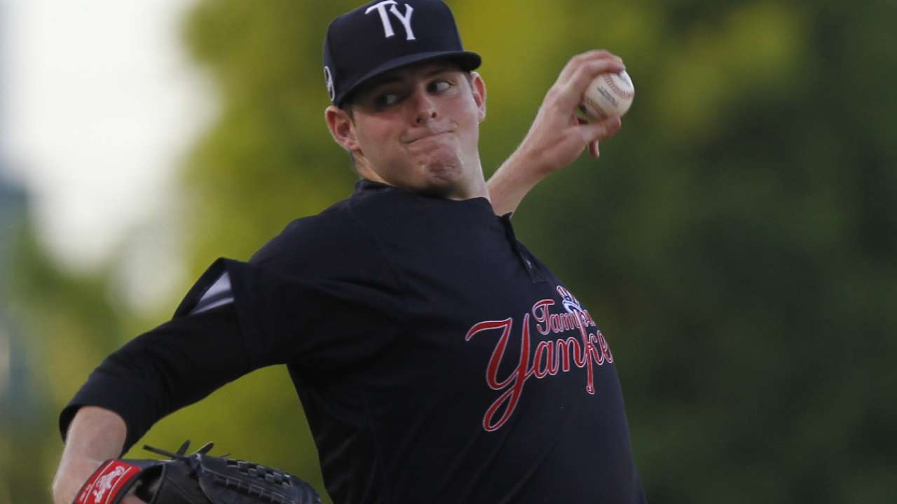 Montgomery hurls six perfect innings for Class A Advanced Tampa