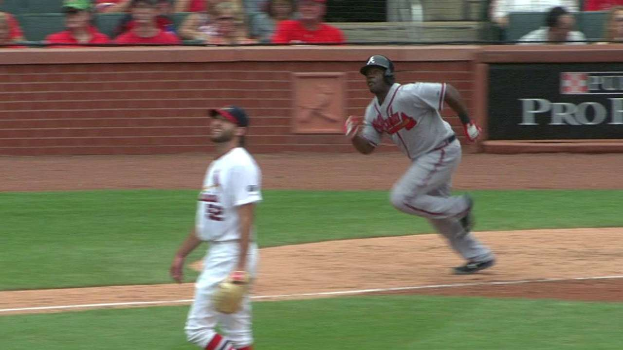 Braves getting first-hand look at what Garcia can do