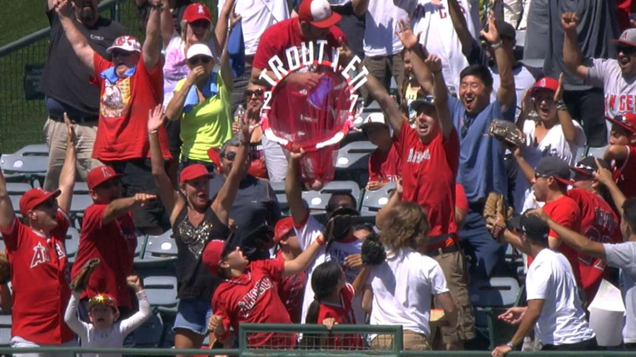 Must C: Trout goes yard twice