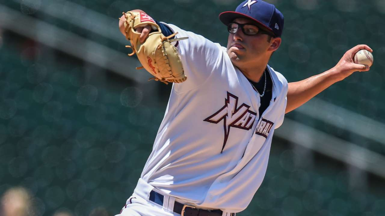 Reed records career-high 12 strikeouts for Blue Wahoos