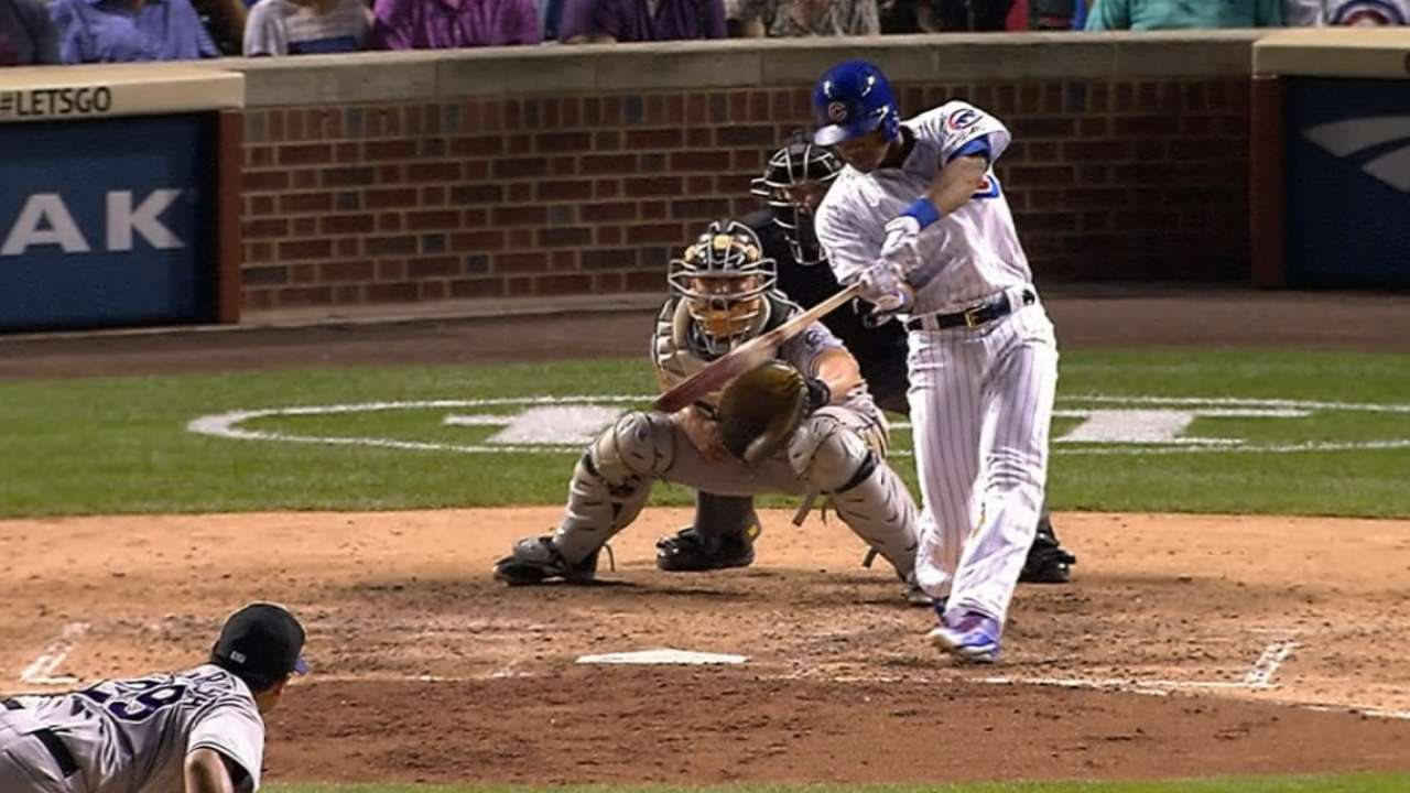 Cubs' six-run 4th