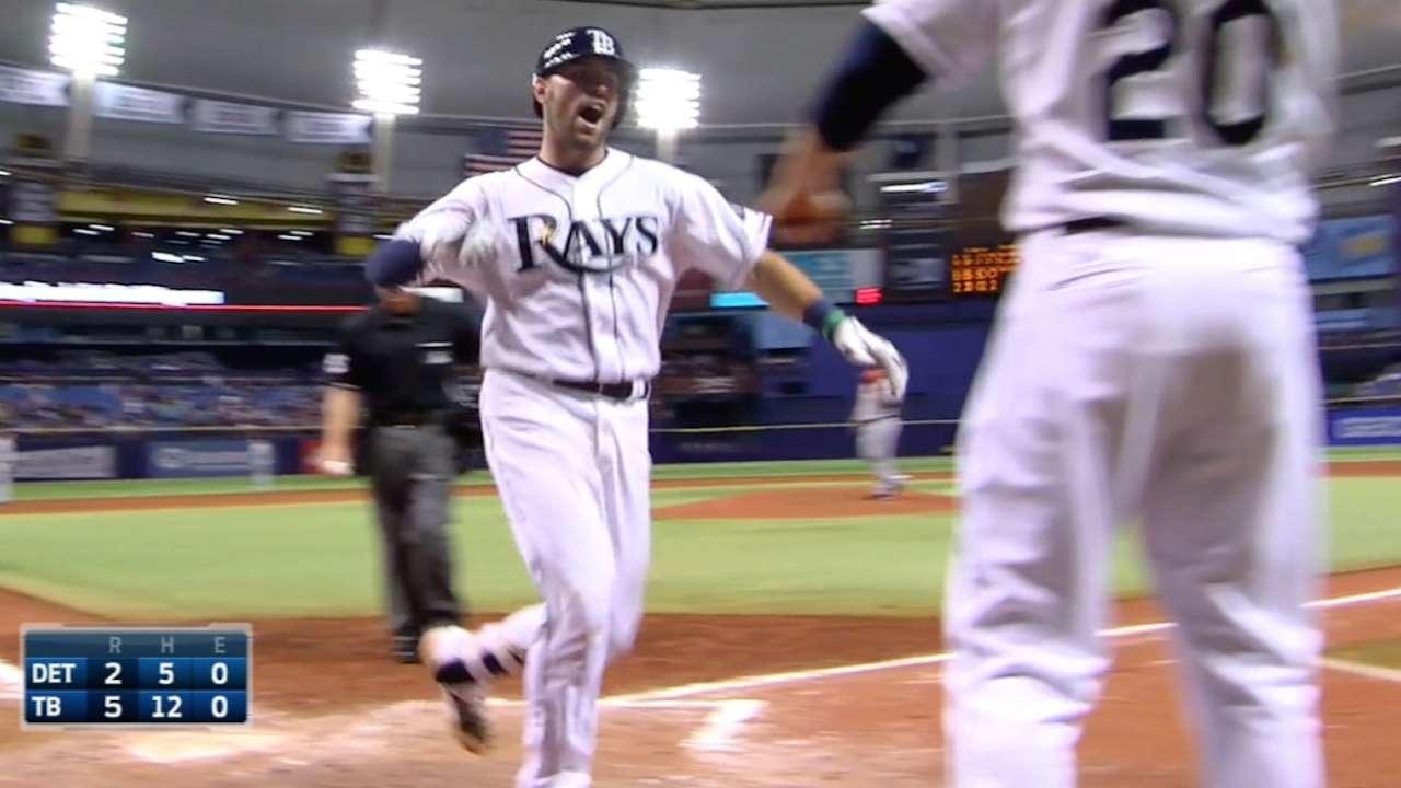 Casali's two home runs