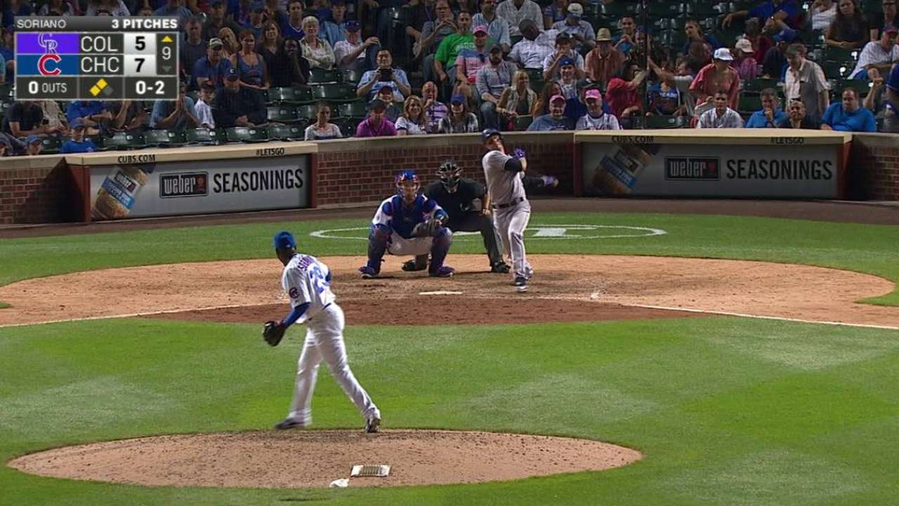 Tulo's RBI groundout