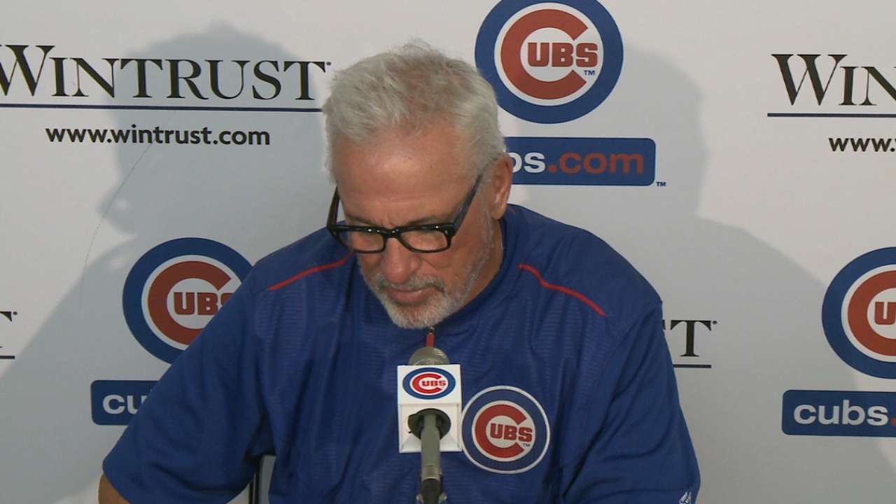 Maddon on Bryant's night
