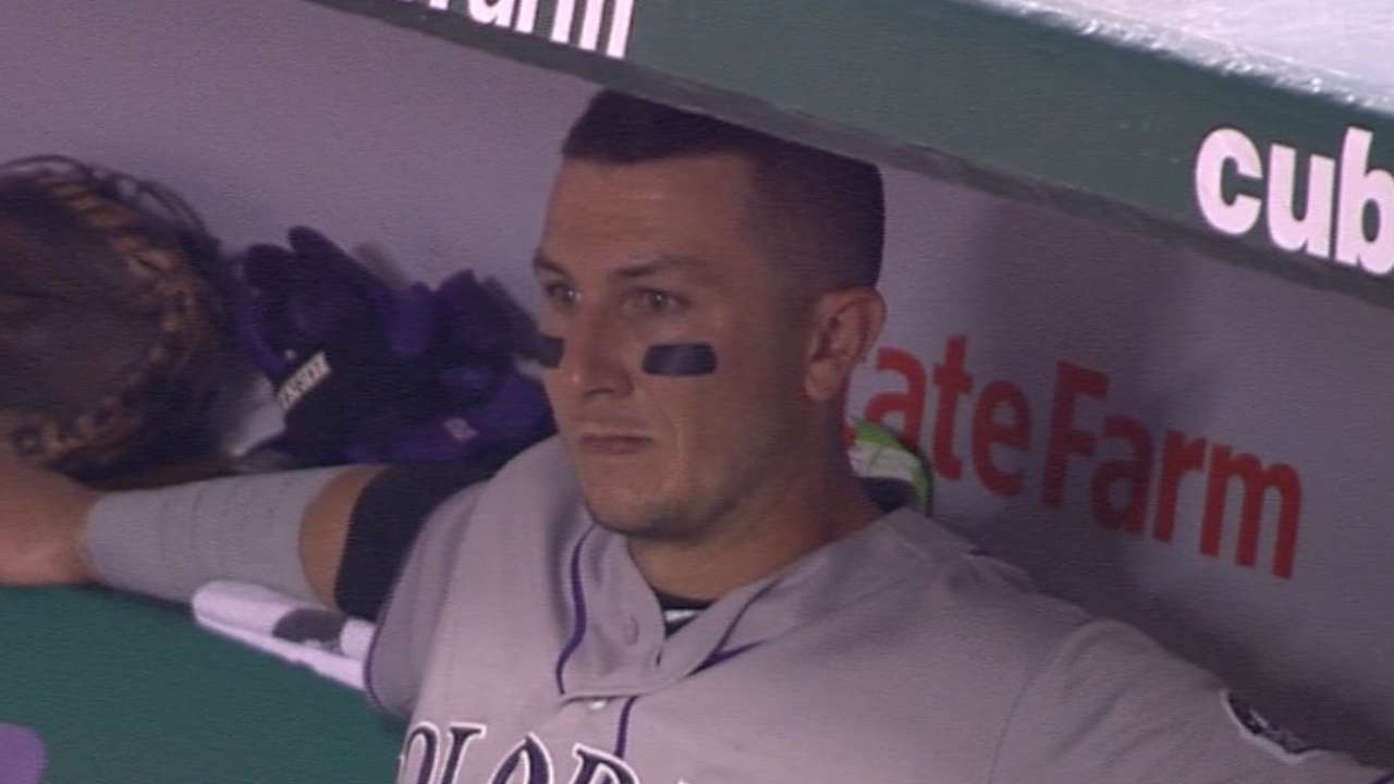 Tulo leaves game in the 9th