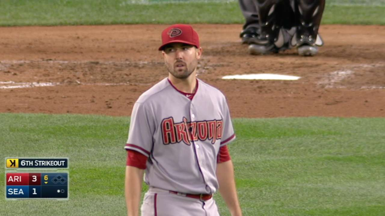 Ray strikes out eight
