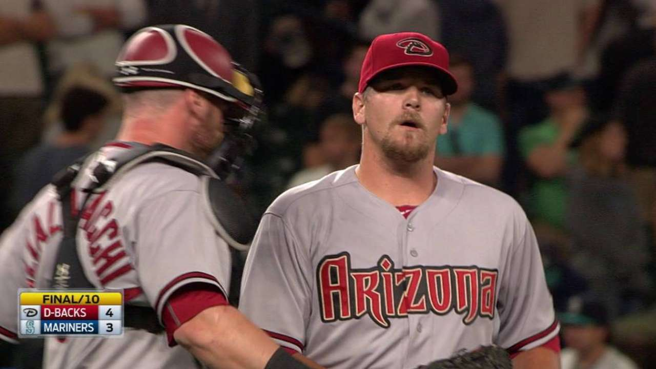 Chafin optioned to Reno to give arm a rest