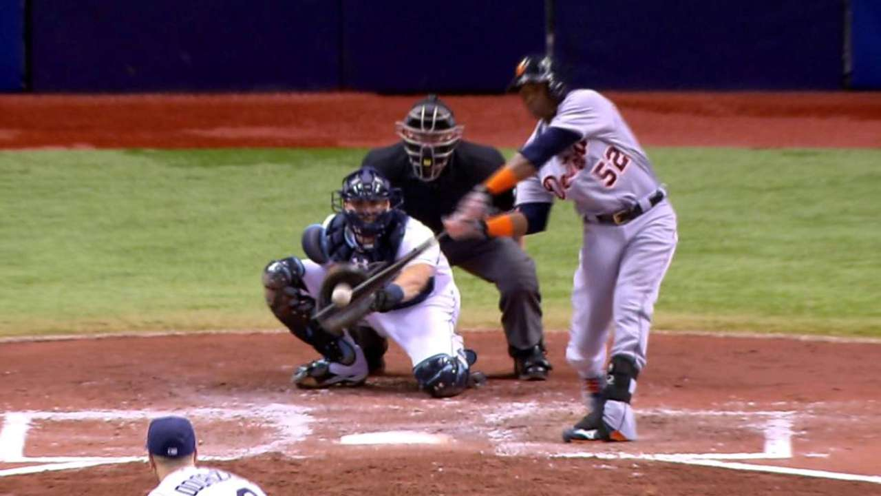 Cespedes stays hot but Price struggles, Tigers fall