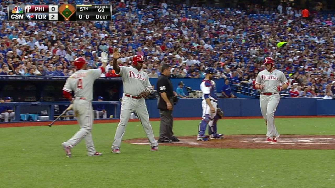 Asche's two-run double