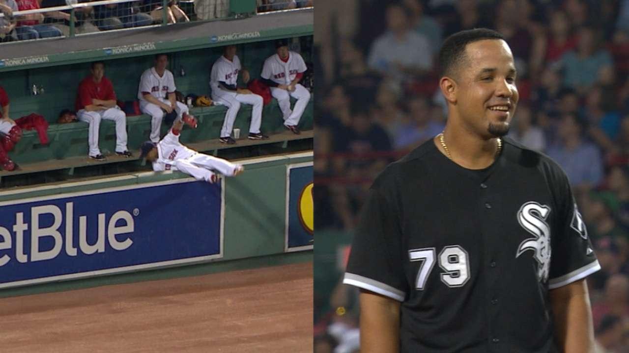 Soto, Abreu jonronean y White Sox ganan en Boston