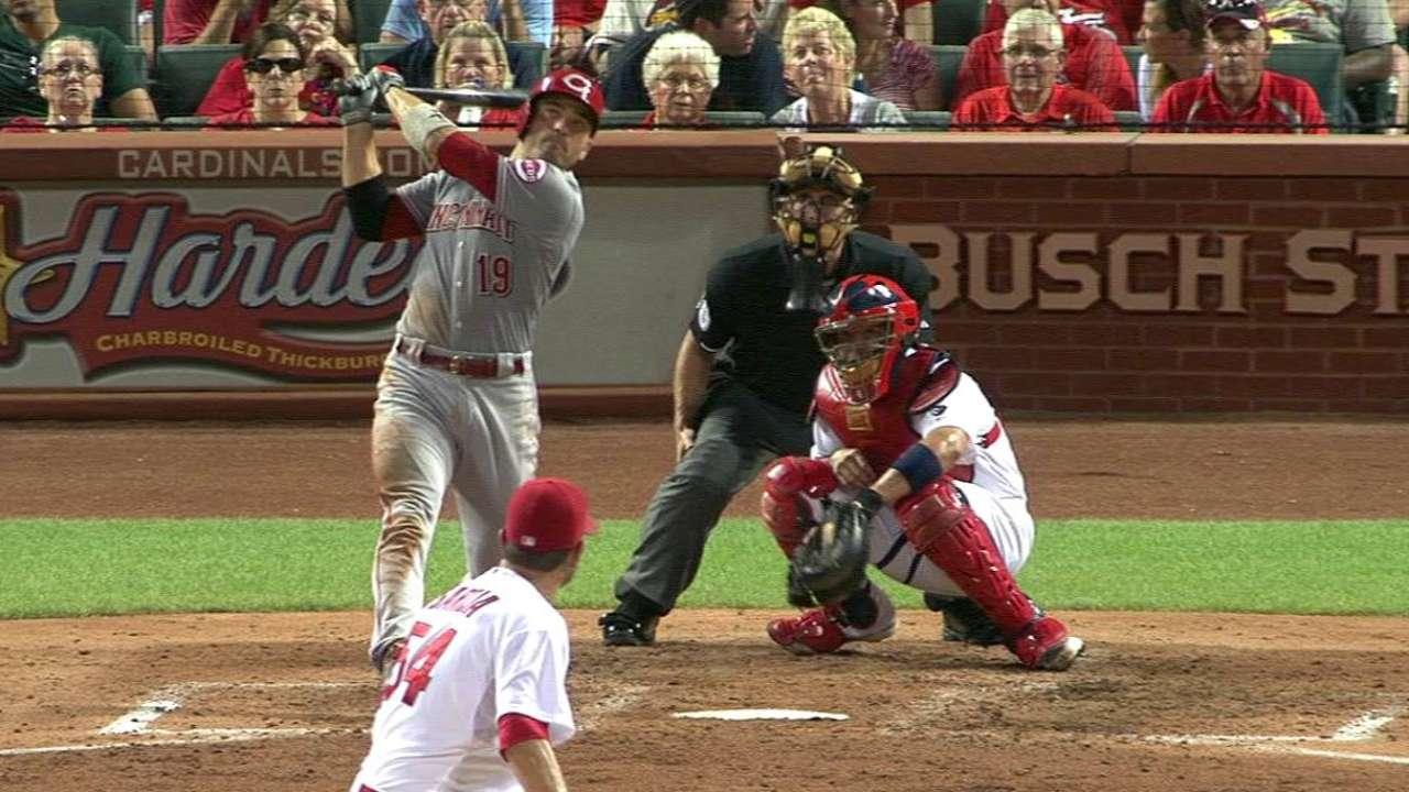 Votto's three-run homer