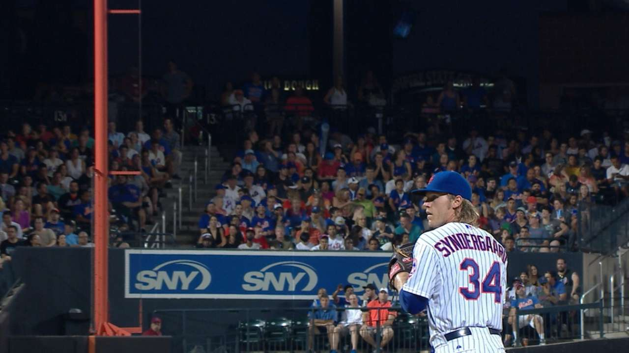 Syndergaard's scoreless outing