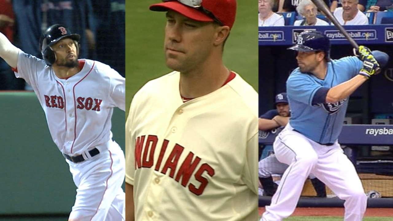 Angels add trio of veteran outfielders via trades