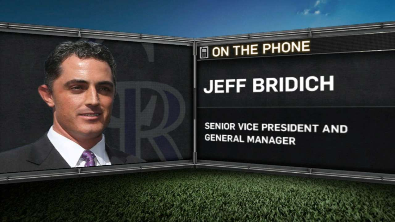 GM Bridich on Reyes-Tulo deal