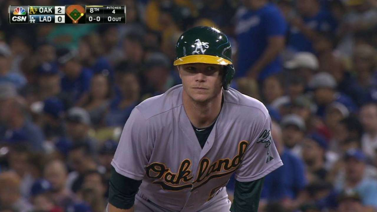 Gray's first career hit