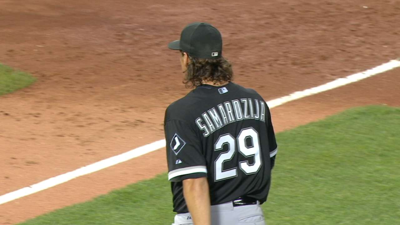 Samardzija remains focused post-Deadline