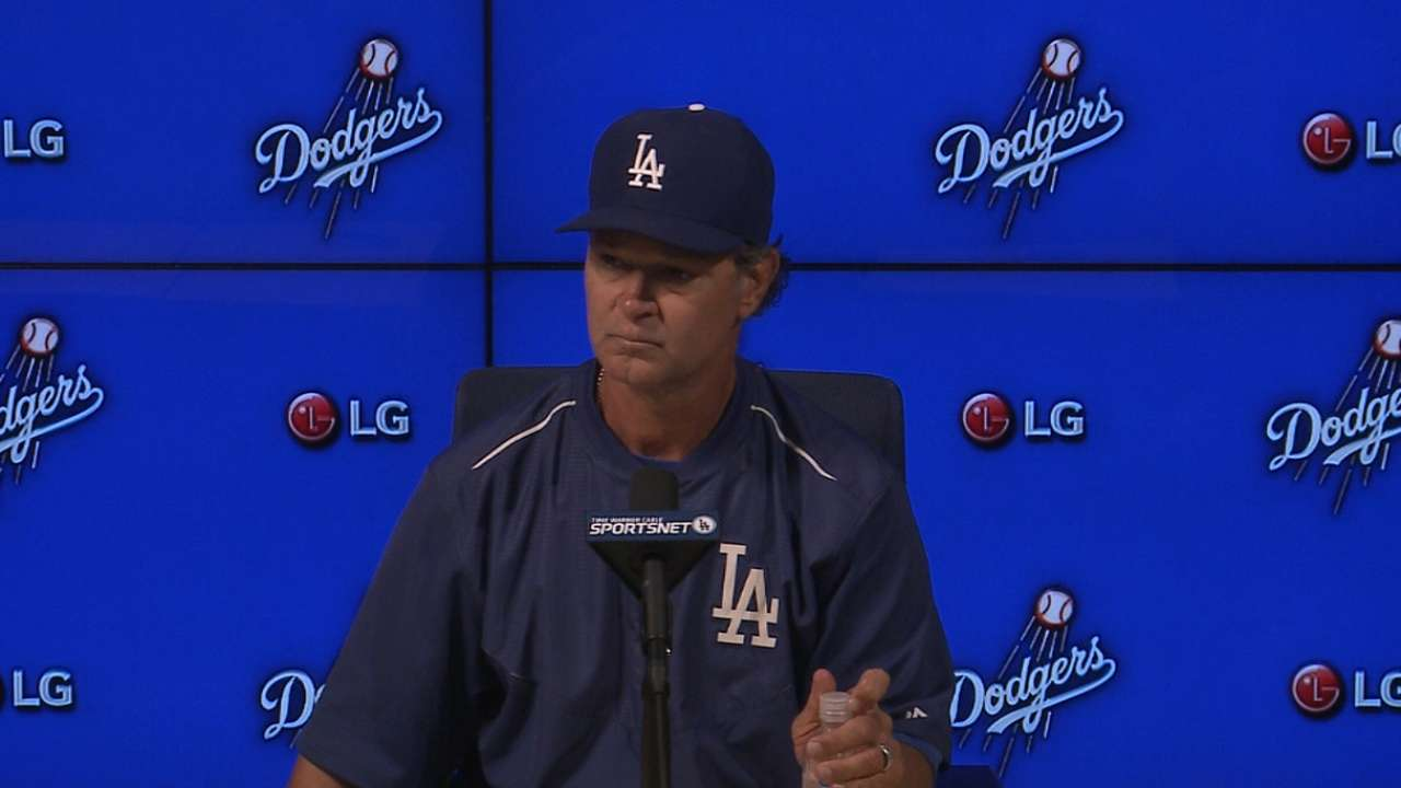 Dodgers' offense gets nowhere against Gray
