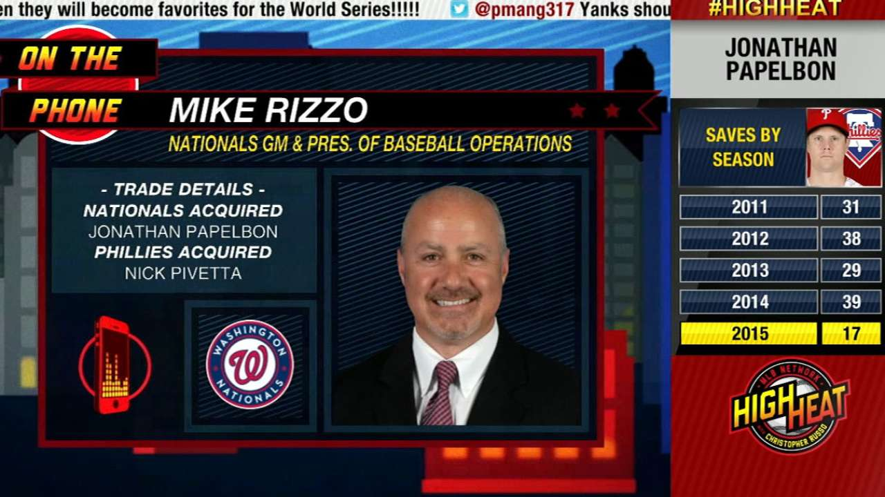 High Heat: Mike Rizzo