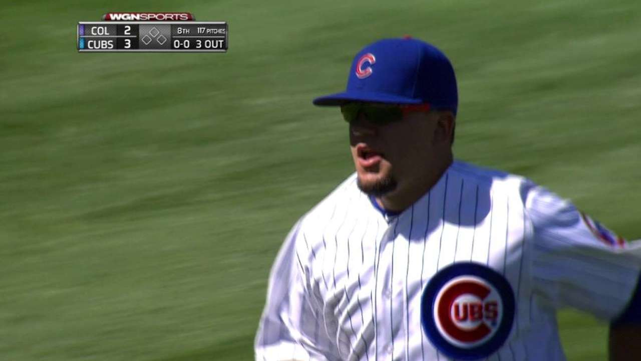 Cubs plan to find time for Schwarber to catch