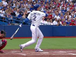 PHI@TOR: Tulo belts two-run homer in Blue Jays debut