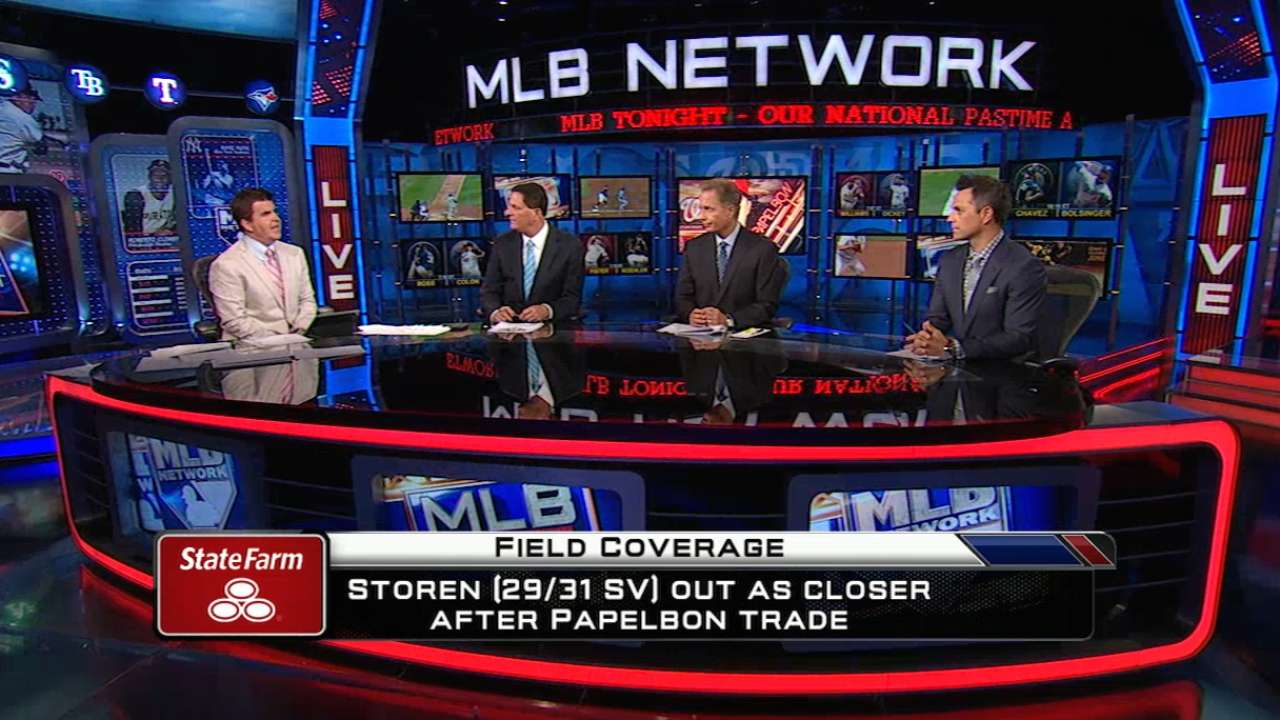 MLB Tonight on Papelbon