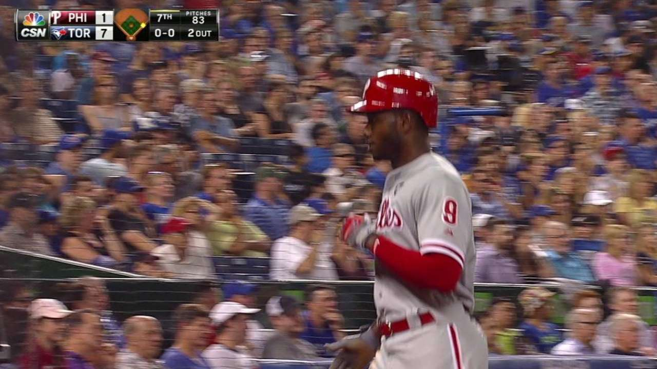 Brown scores on Martin's error