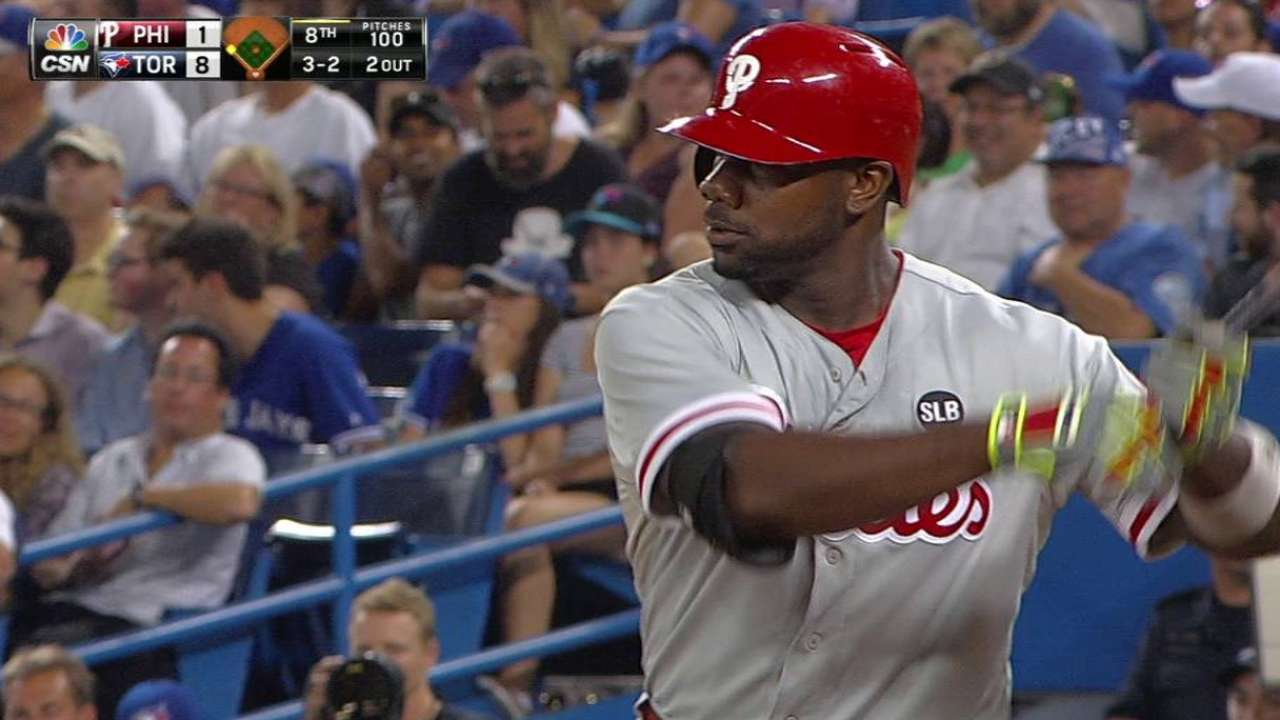 Phillies lack punch as Williams labors vs. Jays