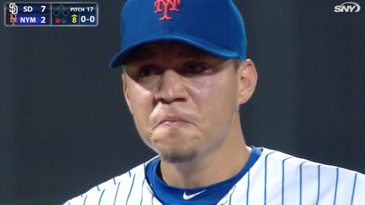 Flores emotional after ovation