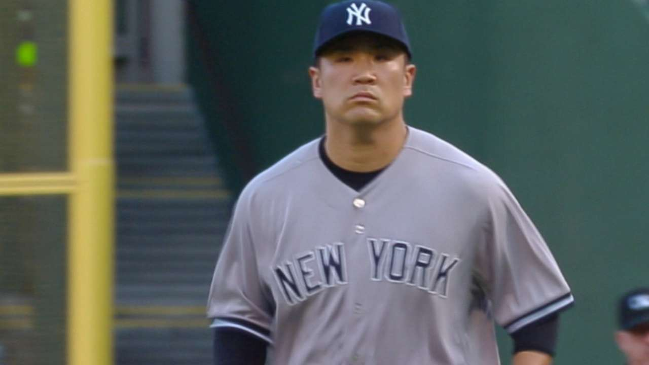 Command an issue for Tanaka in latest start