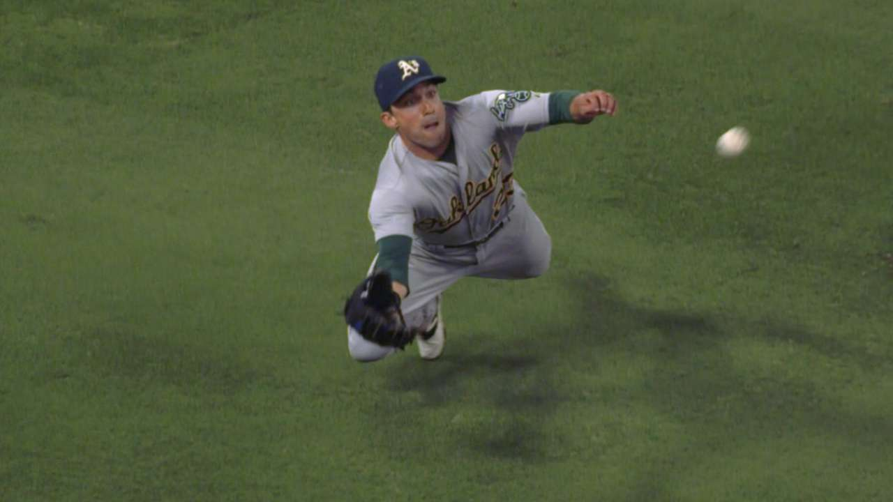 Must C: Super Sam Fuld robs hit