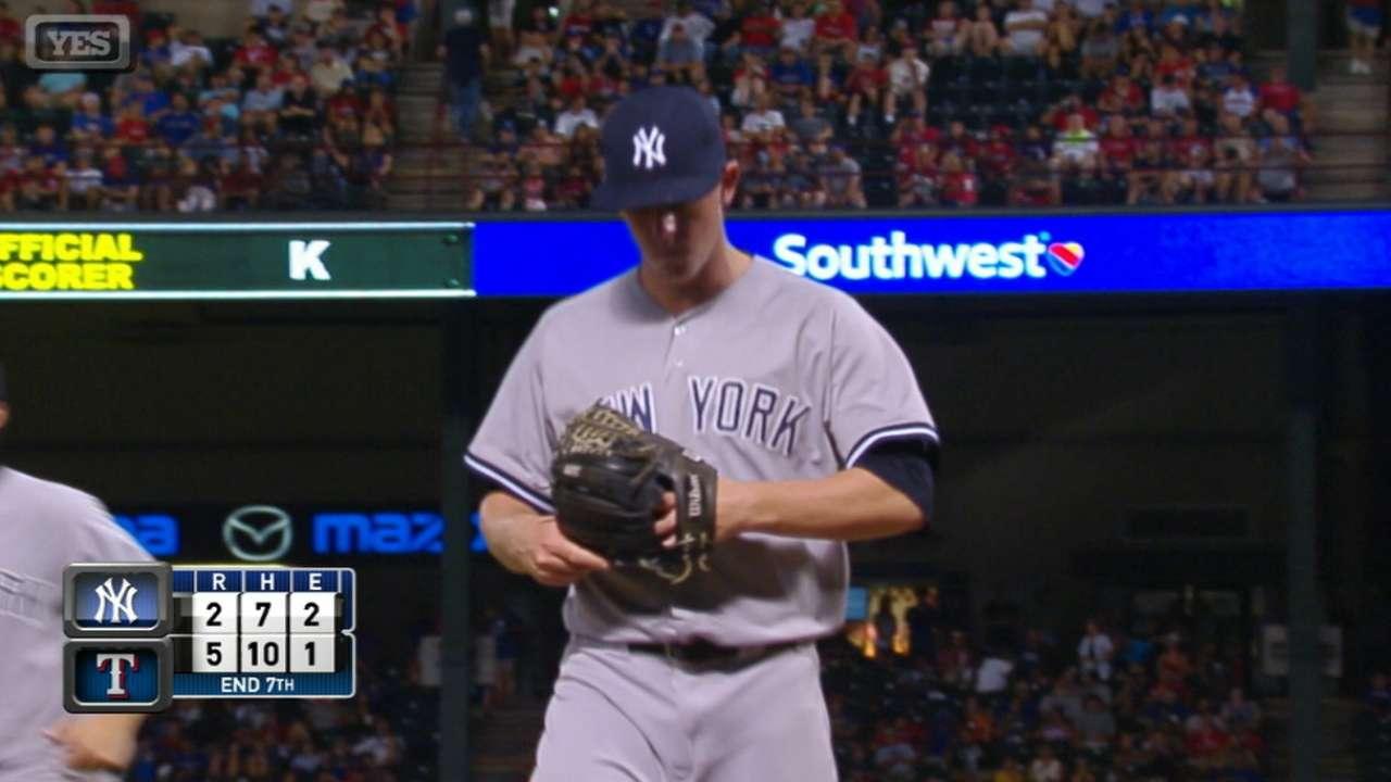 Cotham's MLB debut