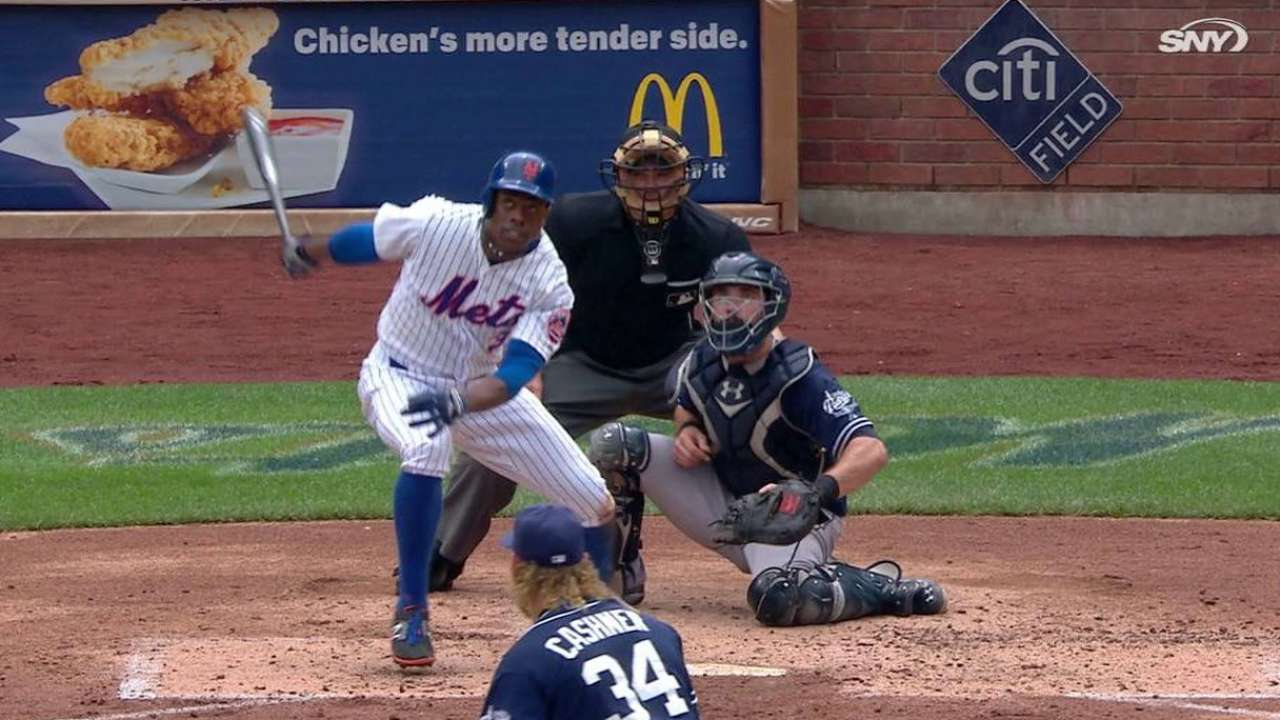 Grandy does it all, but Mets fall on late homer