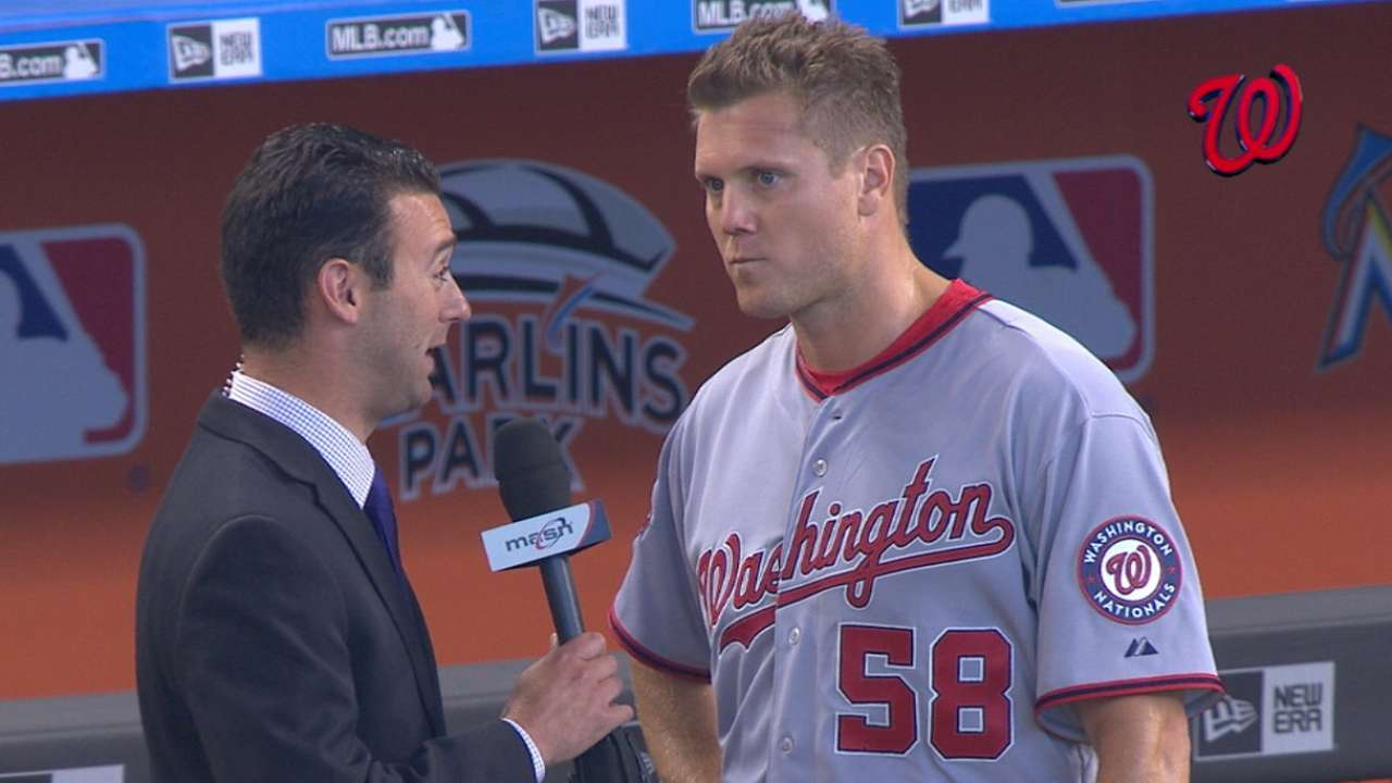 Papelbon on Nationals debut