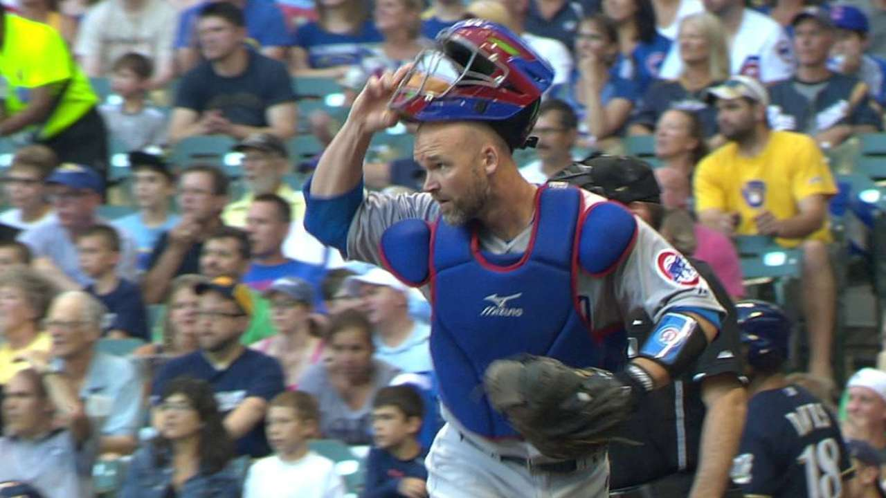 Cubs salute Ross with teasing, affection